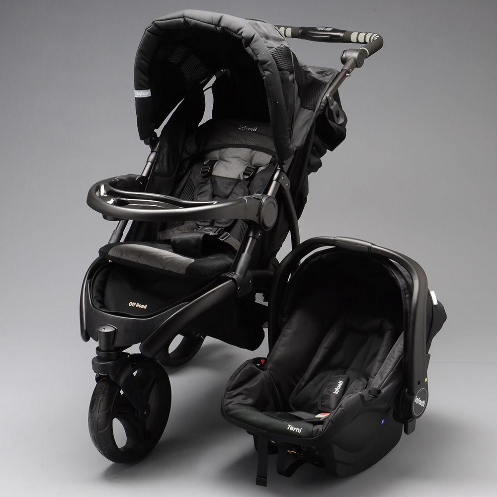 23f84c646 Carrinho com Bebê Conforto Off Road Travel System - TA485TS - Alô Bebê