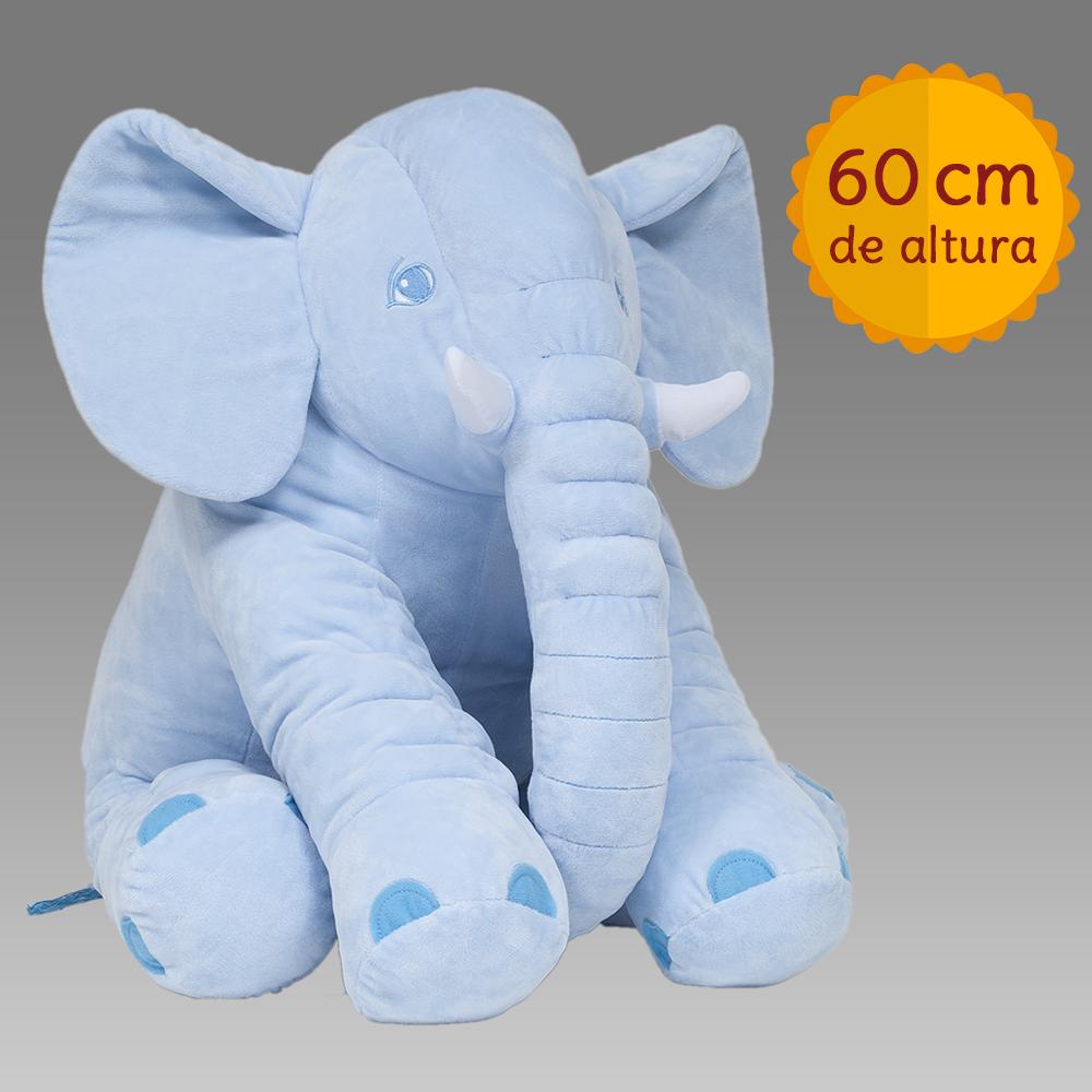 ece35184467453 Almofada Elefante Gigante - Alô Bebê